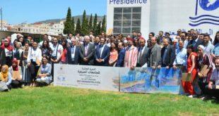 استقبال 120 شاباً وشابة من مغاربة المهجر بالجامعة الصيفية بتطوان