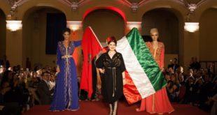 سارة الزروالي تعرض القفطان المغربي بهنغاريا