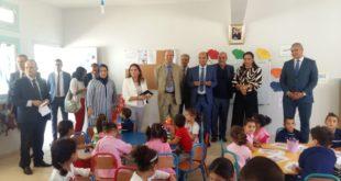 عامل تازة يشرف على انطلاقة التعليم الأولي و يؤكد على ضرورة تقليص الفوارق بين التعليم العمومي و الخصوصي