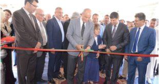 عامل إقليم جرادة يفتتح المعرض الجهوي  للصناعة التقليدية بمدينة جرادة
