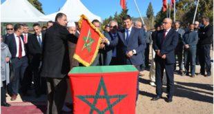 عامل إقليم جرادة يعطي الانطلاقة لإشغال  مشروع التطهير السائل بمدينة تويسيت