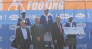 تتويج المغربي  حمزة المقرطس في الدورة السادسة للمراطون الدولي لتارودانت