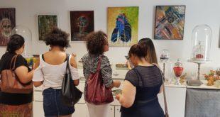 بمشاركة فنانين مغاربة جمعية الفن بلا حدود تنظم معرضها العاشر للفنون التشكيلية بفرنسا ..