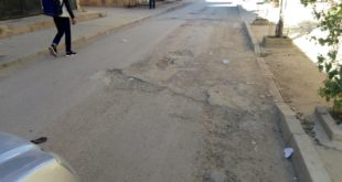 خنيفرة مريرت انتشار الحفر وسط الشوارع والأزقة وبقاء دار لقمان على حالها