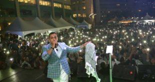 حضور جماهيري كثيف في حفل الفنان الفلسطيني ماهر العتيلي في مهرجان اتاوا