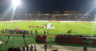 المنتخب المغربي يخيب امال الجمهور الوجدي