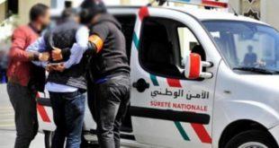 تبادل إطلاق النار بين عناصر الشرطة و مروجي مخدرات بمدينة فاس (بلاغ )
