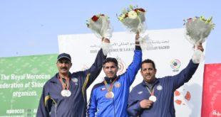 اختتام الدورة الثالثة لجائزة المغرب الدولية الكبرى للرماية الرياضية والبطولة العربية للرماية بأسلحة الخرطوش بلعبة السكيت رجال