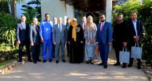 عبد الرحيم الحافظي يستقبل وزيرة الطاقة والموارد المائية بالصومال