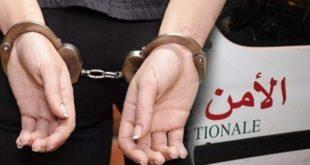 توقيف سيدة أربعينية بتهمة السب والقدف والتحريض على التمييز والعنصرية ضد الجالية المغربية