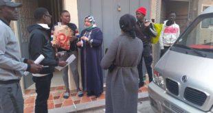 جمعية مغربية تدعم المهاجرين من جنوب الصحراء طيلة مدة الحجر الصحي