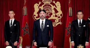 الملك محمد السادس يقترح إطلاق مبادرة للدول الإفريقة للقضاء علی جاٸحة کورونا (بلاغ)