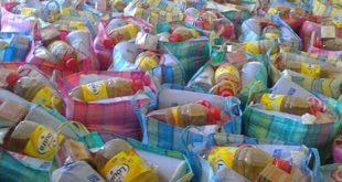 توزيع 1700 قفة على جماعتي بني عمارت وسيدي بوزينب بالحسيمة