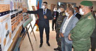 سيدي إفني : عامل الإقليم يتفقد بعض مراكز إجراء امتحانات الباكالوريا