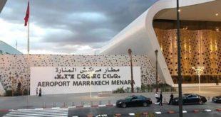 مطار مراكش يستقبل أو فوج سياحي