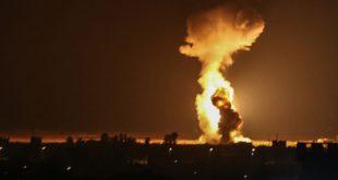 """اسرائيل تقصف مواقع وأراضي لمدنيين في قطاع """"غزة المحاصرة"""""""