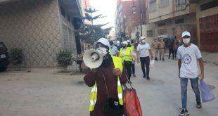 القائد عثمان والفاعلة الجمعوية القيسي ساهما في انخراط جماعي قوي للمواطنين في مواجهة جائحة كورونا
