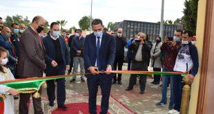 جرسيف: عامل الإقليم يفتح ملعب المسيرة الخضراء بعد تكسيته بالعشب الإصطناعي