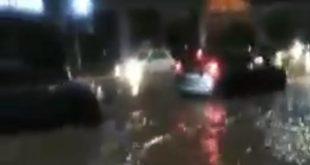 أمطار غزيرة وضعف الإنارة العمومية تربك حركة المرور بمراكش