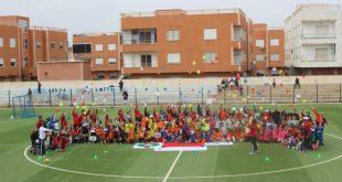 الملكي ..من ابرز المشاركين في المهرجان الكروي النموذجي  للجامعة الملكية المغربية لكرة القدم  بالسعيدية