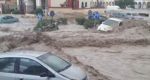 وفاة 06 اشخاص جراء فيضانات بالجزائر