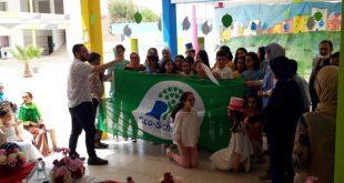 جرسيف: مديرية التعليم تحتفي بالمؤسسات التعليمية الإيكولوجية المتوجة بشارة اللواء الأخضر
