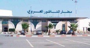 انخفاظ بنسبة 11.31 في المائة في عدد المسافرين عبر مطار النازور