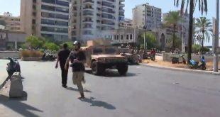 اشتباكات عنيفة وإطلاق نار كثيف في شوارع بيروت وسقوط ضحايا